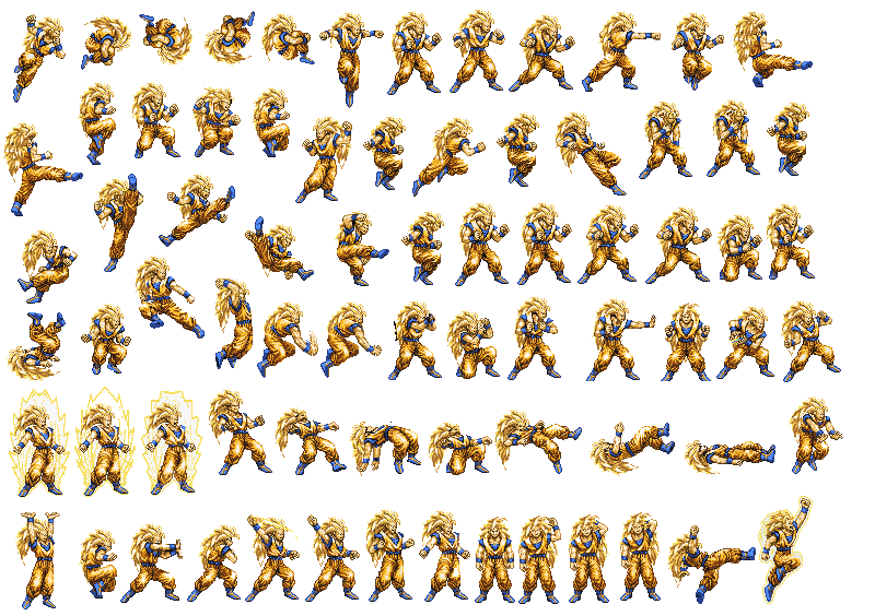 sprite database - DBZ burst limit infinite world